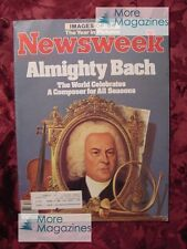 NEWSWEEK December 24 1984 12/24/84 J. S. BACH BHOPAL 84 YEAR in REVIEW +++