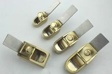 5 pcs various size mini brass planes, Violin/Cello making tools