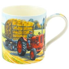 Nuffield Red Tractor Mug Gift Boxed Farming Kitchen China Drinking Cup