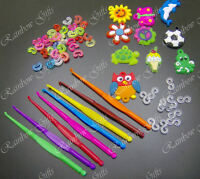 LOOM BANDS REPLACEMENT S CLIPS C CLIPS CHARMS TOOLS ACCESSORIES FOR LOOM BANDS