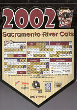 Lot of 3 2002 Pacific Coast (PCL) California League SGA Magnet Schedules