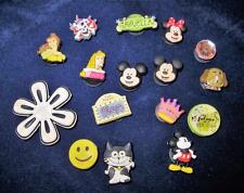 Jibbitz, Disney & Other, Shoe Charms, Lot of 16, Mickey, Minnie, Princesses