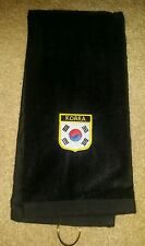 Korean Flag Shield Golf Towel
