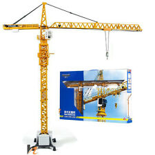 KDW 1:50 O Scale Diecast Tower Slewing Crane Construction Vehicle Car Models Toy