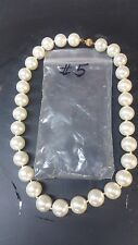 "South Sea Shell Pearl  Approx 14 MM  18"" Necklace Beautiful Timeless White #5"