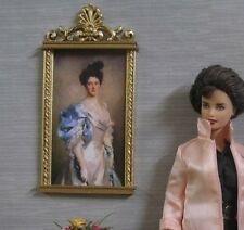 FRAMED  PICTURE ~  For   BARBIE  ~ Handcrafted ~ Diorama  1:6 scale