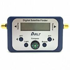 Digital Satellite Finder HDTV Digital Sat Analyser Plated LCD Compass NC+ SKY