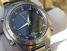 Pulsar by Seiko Gents ana/digi wrist watch New battery fitted PS23 NX14-X003