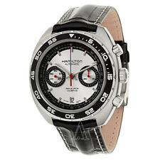 NEW Hamilton Pan Europ Auto Chrono H35756755 Watch (Silver Dial) - $1,945