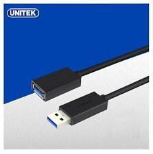 UNITEK 1.5m USB 3.0 SUPER SPEED Type A Male TO Female Extension Data Sync Cable