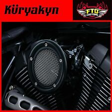 Kuryakyn Black Velociraptor Air Cleaner for 07-'17 Sportster Models 9877