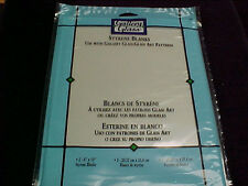 Gallery Glass Stained Glass Styrene Blanks 2 Sheets Per Package