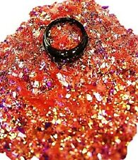 3ml Flakes Glitter in Acryl Dose, Rot, 807-002-a