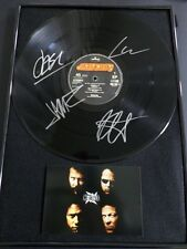 Metallica Hand Signed The $5.98 E.P Garage Days Re-revisited LP x4 Framed Photo