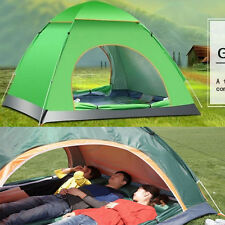 3-4 Person Family Automatic Instant Tent Waterproof UV Protect Camping Hiking