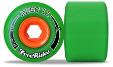 ABEC11 Classic Freeride - 72mm Set centro 84a Ruote Longboard
