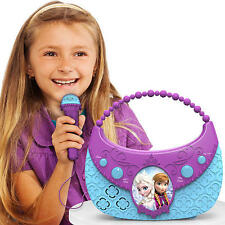 DISNEY congelato COOL TUNES sing-along Boombox CANZONI-si connette a MP3 Player's