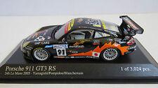 MINICHAMPS 1/43 400 056981 PORSCHE 911 GT3 RS 24h LE MANS 2005 No.91 RARE MINT