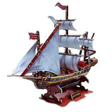 Educational 3D Model Puzzle Jigsaw Ship Boat DIY Toy for Kids  125pcs