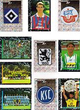 PANINI Fußball 1997 - 10 verschiedene Sticker - SET 1
