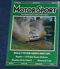 Motor Sport January 1988 Audi Coupe Quattro, Nissan 300 ZX, Peugeot 405, BX GTi