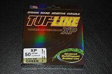 TUF-Line XP Green 50lb Test 150 yard Multifilament Braid Fishing Line XP50-150GN