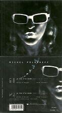 RARE / CD 2 TITRES - MICHEL POLNAREFF : JE REVE D' UN MONDE