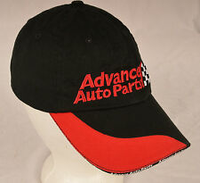 Advance Auto Parts Advertising Baseball Ball Cap Black / Red Embroidered Velcro