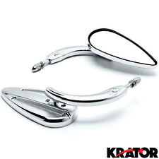 Teardrop Chrome Mirror Cruiser For Harley Davidson V-Rod Night Street V Rod