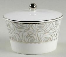 Waterford Fine China Monique Lhuillier Sunday Rose Covered Sugar Bowl With Lid