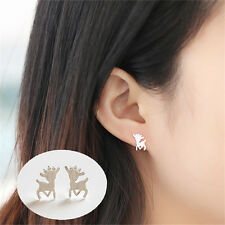 1Paar mini Reh Ohrstecker Ohrring Ohrschmuck Earrings Ear Studs
