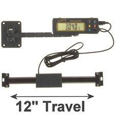 "iGaging Absolute DRO Digital Readout 12""/300mm Read Out Stainless Steel Beam"