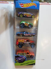 2014 HOT WHEELS WORKSHOP GRAFFITI RIDES FORD FOCUS ROCKET BOX 5 CAR PACK