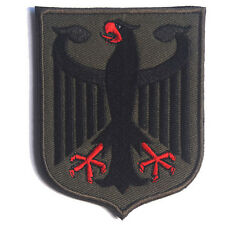 GERMAN EAGLE GERMANY TACTICAL ARMY BADGE PATCHES EMBROIDERED HOOK LOOP PATCH #03