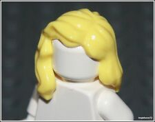 Lego Batman x1 Yellow Blonde Over Shoulder Hair City Girl Female Minifigure NEW