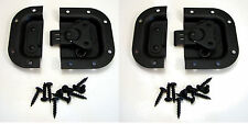 2 NEW Penn Elcom 3758BK Black Recessed Butterfly Latches Rack & Pedal Board Case