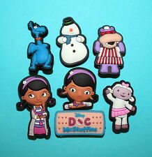 Doc McStuffins Shoe Charms 9 Cupcake Toppers Toy Decorations Party Favours NEW