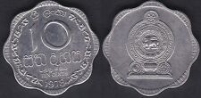 SRI LANKA   10 CENTS 1978   HIGH GRADE