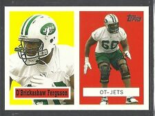 2006 Topps Turn Back the Clock - #17 - D'Brickashaw Ferguson - New York Jets