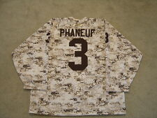 PRE GAME WARMUP REEBOK 2009-2010 TORONTO MAPLE LEAFS CAMOUFLAGE JERSEY