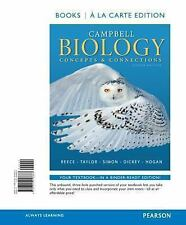 Campbell Biology: Concepts & Connections, Books a la Carte Edition (8th Edition)