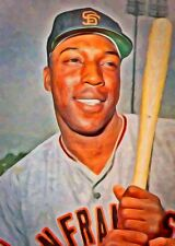Willie McCovey Limited Edition Art Card 1 of 49 San Francisco Giants HOF