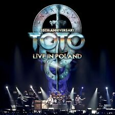 TOTO - 35TH ANNIVERSARY TOUR-LIVE IN POLAND 2 CD NEU