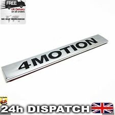 VW 4 Motion Chromed ABS Emblem Badge Sticker Logo For Golf Tiguan Polo
