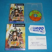 Juego SHAMAN KING SOUL FIGHT para NINTENDO GAMECUBE Completo NTSC-JAP