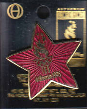 RARE PINS PIN'S .. OLYMPIQUE OLYMPIC JEUX ATLANTA 1996 ETOILE RED STAR USA ~16