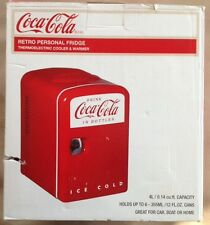 Coca Cola Retro Personal Fridge Thermoelectric Cooler & Warmer NEW!!! Red!!!