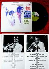 LP A Man Called Adam Sammy Davis jr. Louis Armstrong Mel Torme Nat Adderley