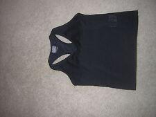 Nike Dri-Fit Fitness/Exercise TOP Shirt Women's Size Medium Black