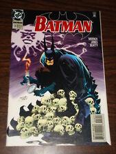 BATMAN #516 DC COMICS DARK KNIGHT NM CONDITION MARCH 1995